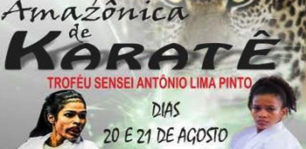 Copa Amazonas-Open Nacional de Karatê acontece neste fim de semana