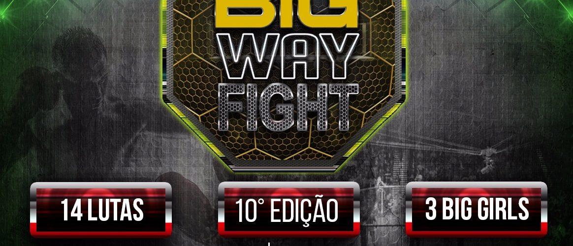 Décima edição do Big Way Fight marcada para outubro na Arena Amadeu Teixeira