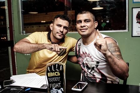 Lutadores do Big Way Fight 10 farão treino aberto hoje na Bola do Produtor