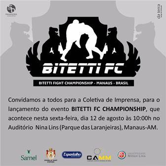 Coletiva de imprensa do Bitetti FC acontece nesta sexta-feira