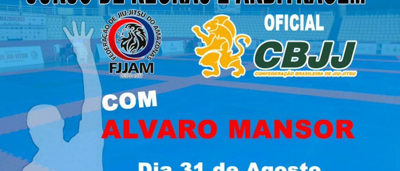FJJAM promoverá curso de regras e arbitragem com a participação de Alvaro Mansur