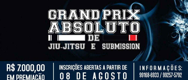 Grand Prix Absoluto de Jiu-Jitsu e Submission marcado para Setembro
