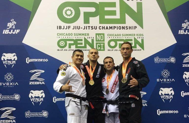 Cristiano Ribeiro fatura prata no Chicago Spring International Open de jiu-jitsu
