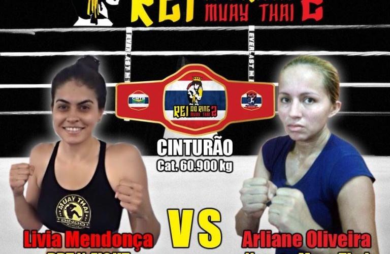 Arena Amadeu Teixeira será palco da segunda edição do Rei do Ring