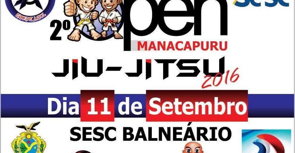 2° Open Manacapuru de Jiu-jitsu marcado para Setembro