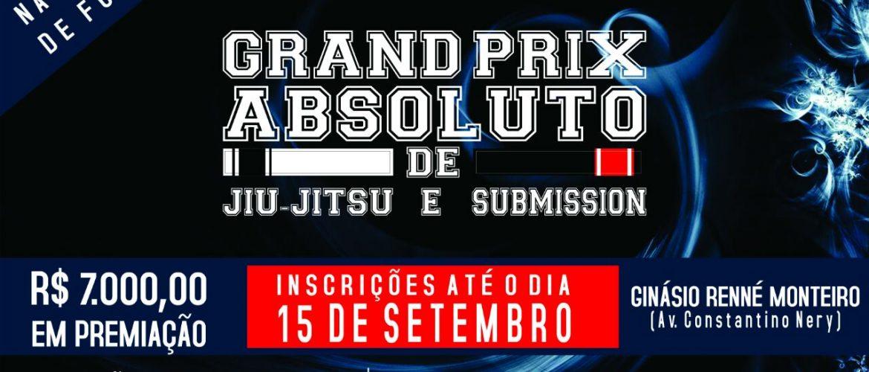 Grand Prix Absoluto de Jiu-Jitsu e Submission acontece neste sábado, no ginásio Renê Monteiro