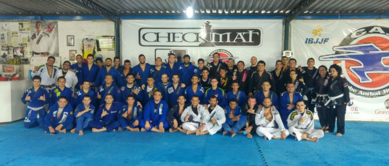 Marcelo Lapela realiza seminário na academia Checkmat