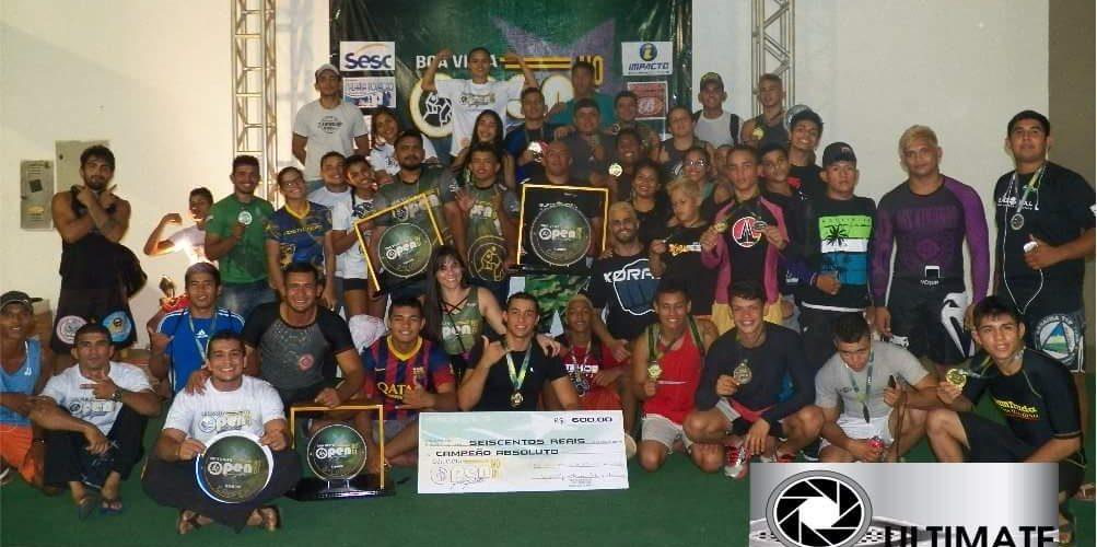 Open Nogi reune 300 atletas em Boa Vista