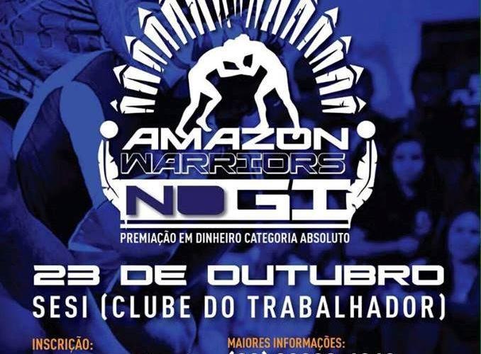Amazon Warriors Nogi com inscrições abertas