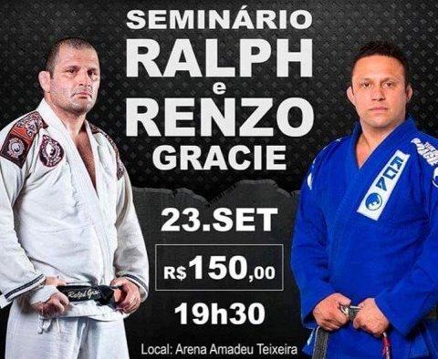 Seminário com família Gracie acontece nesta sexta-feira na Arena Amadeu Teixeira