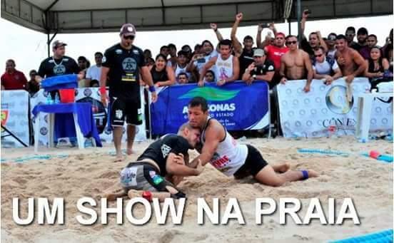 Maués sediará Circuito Guaraná Beach Wrestling