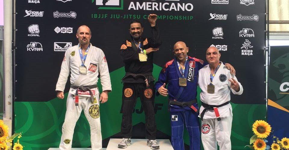 Frank Franco fatura ouro e prata no Sul Americano de jiu-jitsu em São Paulo