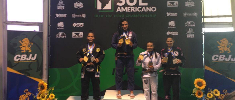 Carlos Holanda e Rebeca Rodrigues vencem no Sul-Americano de jiu-jitsu