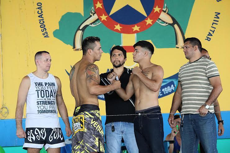 Rivalidade Amazonas vs Pará é atração extra no RN Combat, neste sábado (12), em Manaus