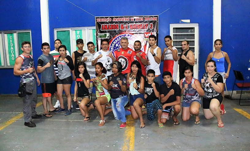 Amazon K-1 Kombat 3 terá 15 lutas nesta sexta-feira (4), no bairro da Compensa, em Manaus