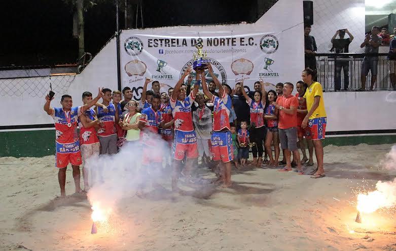 Amigos do Tubinha/Família São José fatura 1ª Copa Gigantes da Zona Leste de Beach Soccer Masculino