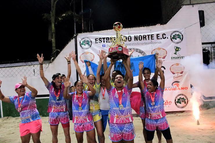 Unidas do São José conquista 6ª Copa Estrela do Norte de Beach Soccer Feminino