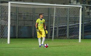 Marcelo Valverde - goleiro do Nacional Futebol Clube (Foto: Lorena Furtado / Assessoria NFC)