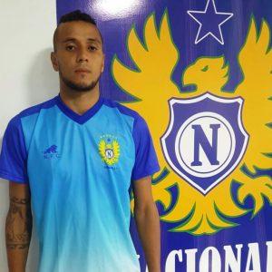 Erick Rocha - goleiro do Naça (Foto: Lorena Furtado / Assessoria NFC)