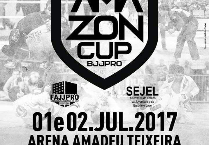 AMAZON CUP BJJ PRO ACONTECE NOS DIAS 1 E 2 DE JULHO