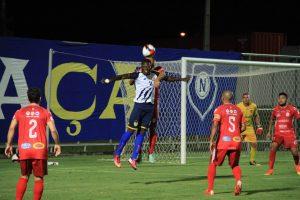 Hudson Dias, atacante do Naça (Foto: Arlesson Sicsú / Nacional FC)