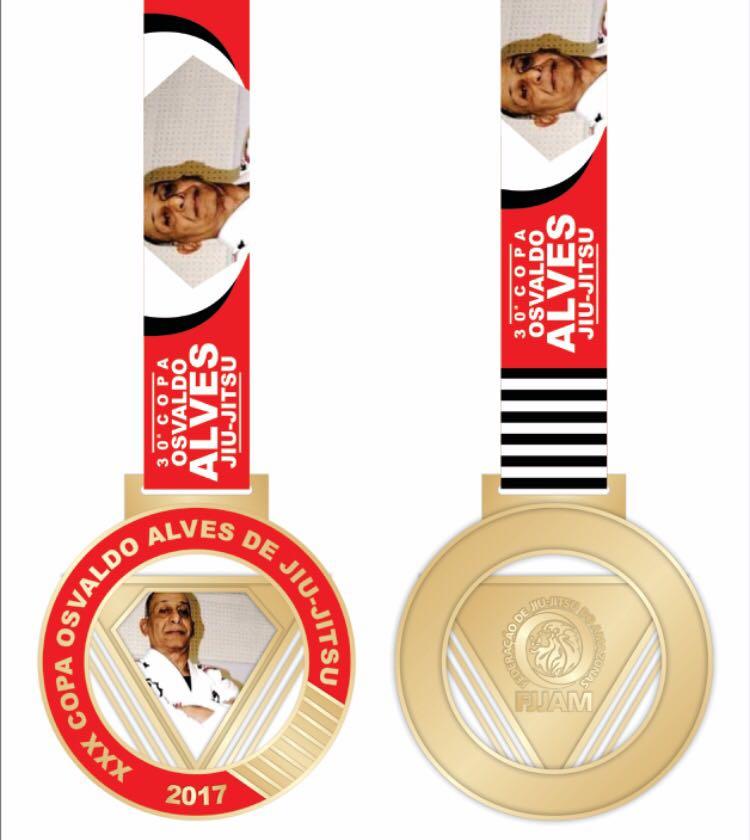 medalha osvaldo alves