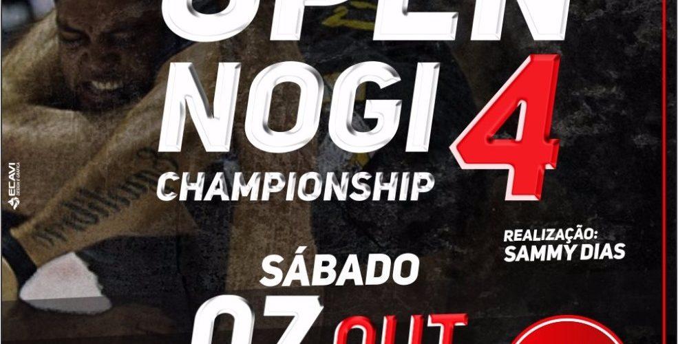 Estão abertas as inscrições abertas para o 4° Open NOGI Championship