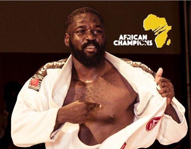 Lutador africano faz história como primeiro lutador do continente a disputar a Copa Podio