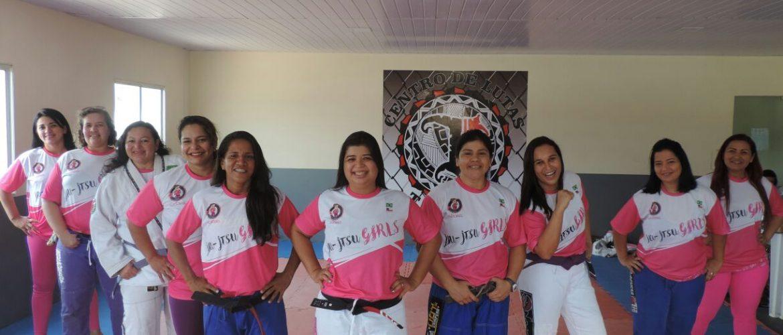 Jiu-Jitsu Rosa: Encontro de Lutadoras irá homenagear faixa preta Eliana 'Gata`