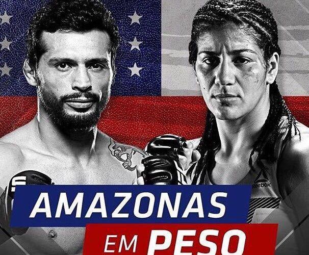 Amazonenses Ketlen Vieira e Adriano Martins buscam vitória no UFC 215