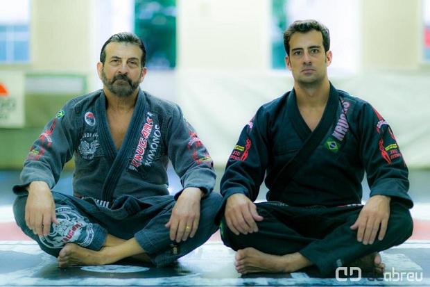 Família Rosado faz seminário de jiu-jítsu em Manaus