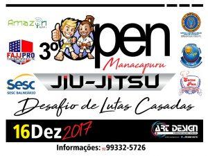 Manacapuru sediará evento de Jiu- Jitsu neste sábado (16)