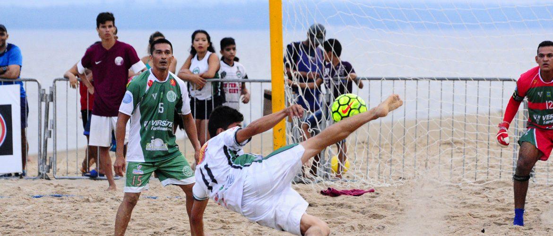 1ª Taça Amazonas de Beach Soccer começa no próximo sábado (20) na Ponta Negra