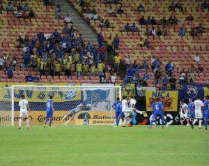 Nacional e Manaus não avançam na Copa do Brasil, mas empolgam torcidas na Arena da Amazônia