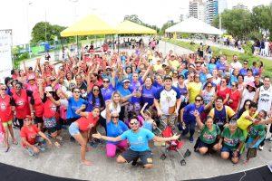 'Sejel Ativa' leva atividades físicas e de lazer para Ponta Negra