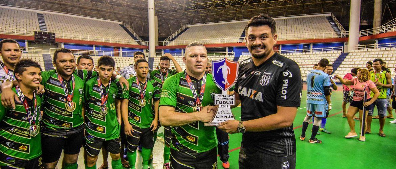 Nos pênaltis, Atlético Bahia Clube (ABC) garante título de campeão Amazonense de Futsal