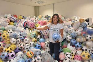 Sejel arrecada mais de 15 mil bolas em final do Peladão 2017 na Arena da Amazônia