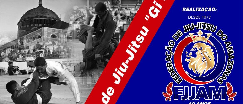 XXXI Campeonato Amazonense de Jiu-Jitsu Gi e No-Gi acontecerá Abril