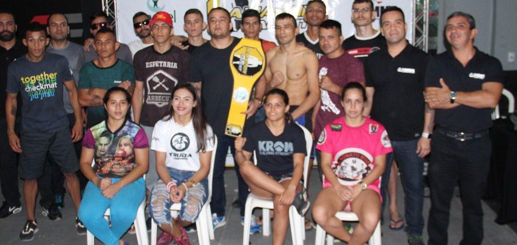 Amazon Talent: Pesagem dos lutadores movimentou OF CT Luis Neto
