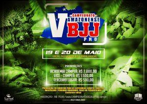 FAJJPRO com inscrições abertas para o V Campeonato Amazonense BJJ PRO