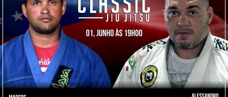 Após 15 anos, Marcos Valle retorna a Manaus para enfrentar Alessandro Guimarães no Jungle Classic Jiu-jítsu
