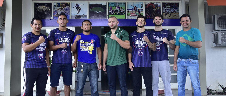 Valendo vaga para o Mundial de Wrestling, atletas do CTARA disputam Jubs de Lutas em Goiânia (GO)