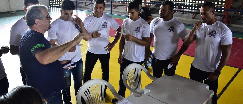 Competição simulada marca o encerramento do 1º Curso de Árbitros e Jurados de Boxe neste sábado (14), na Vila Olímpica de Manaus