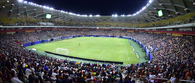 Duelo entre Manaus F.C. e Paysandu reúne mais de 20 mil torcedores na Arena da Amazônia