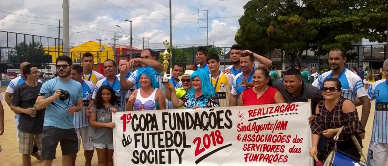 Fundação Cecon vence 1ª Copa das Fundações de Futebol Society, em meio à torcida de aproximadamente 200 servidores, na zona norte de Manaus