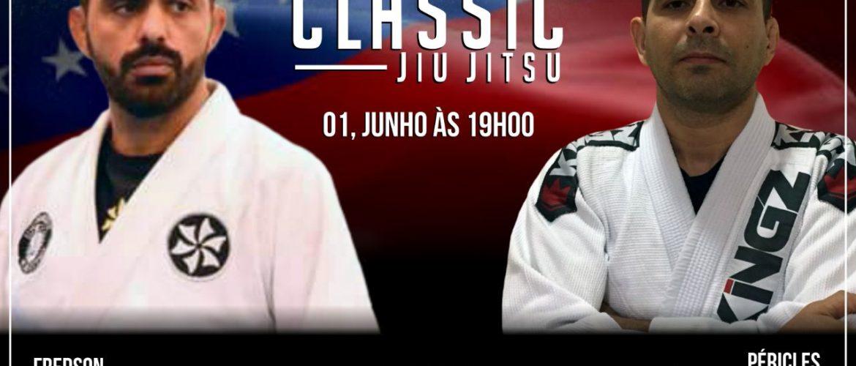 Fredson Alves e Péricles Junior se enfrentam no Jungle Classic Jiu-jitsu