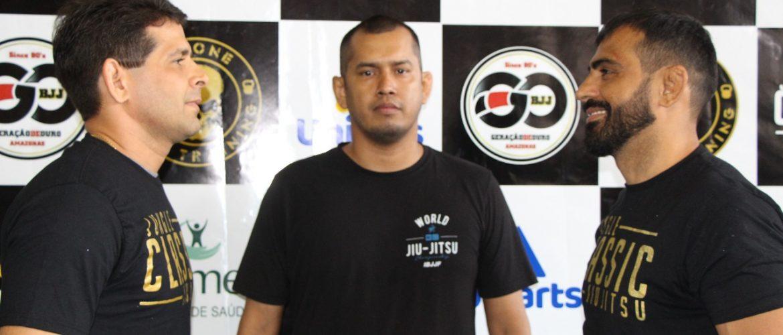 Encarada entre lutadores do Jungle Classic movimenta Campeonato de Jiu-Jitsu em Manaus