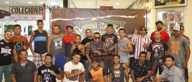 Arena Combat The Jungle : Encarada entre lutadores agita Shopping São José