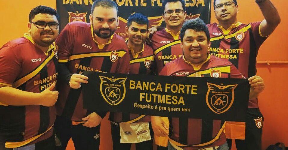 Banca Forte Futmesa é a campeã do 1º turno do Campeonato Amazonense de Futebol de Mesa 2018