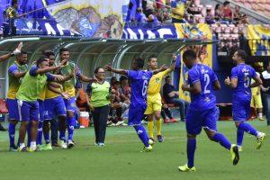 Nacional vence Real Ariquemes – RO por 2 a 0 e está a um passo da classificação para a segunda fase da Série D do Campeonato Brasileiro